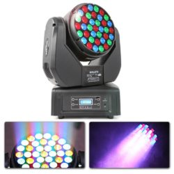 2e keus - BeamZ MHL373 LED movinghead 37x 3W RGB 14 kanalen DMX | Spinze.nl