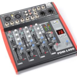 2e keus - Power Dynamics PDM-L405 4-kanaals Live Mixer | Spinze.nl