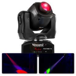 BeamZ Panther 70 LED spot moving head | Spinze.nl