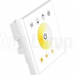 LED strip inbouw wand dimmer