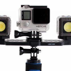 LumeCube actioncam kit Mounting Bar + 2 Lume Cubes   Spinze.nl