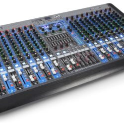 Power Dynamics PDM-S2004 20 kanaals 2-secties mixer | Spinze.nl