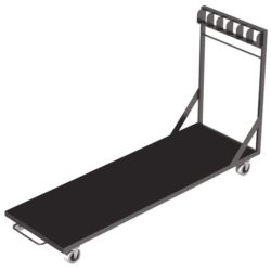 Power Dynamics Podium Platform Trolley Verticaal | Spinze.nl