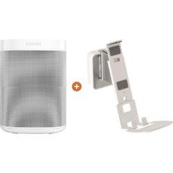 Sonos One + Vogels Sound Muurbeugel Wit | Spinze.nl