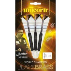 Unicorn Darts W.C. Brass - Black Brass Gary Anderson   Spinze.nl