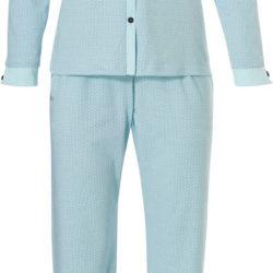 Warme dames pyjama doorknoop Pastunette | Spinze.nl