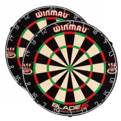 Winmau Darts 2 x Winmau Blade 5 Dartboard   Spinze.nl