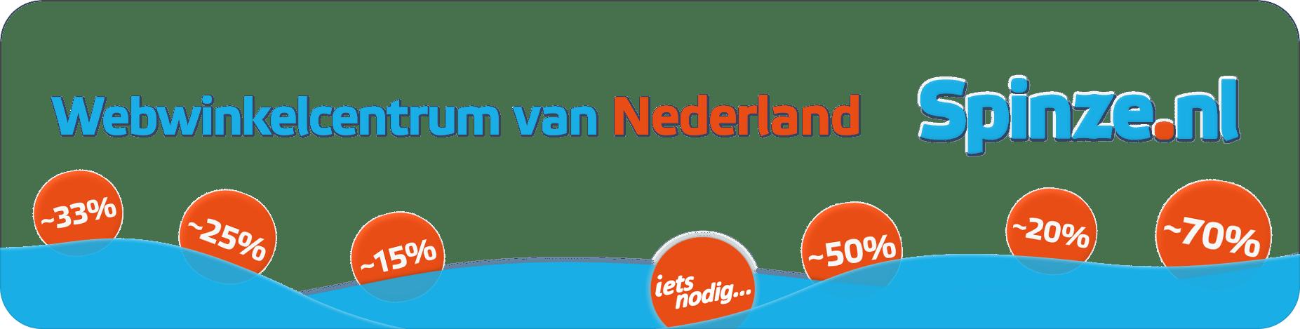 Spinze.nl ~ Webwinkelcentrum van Nederland homepage ~ Webwinkels